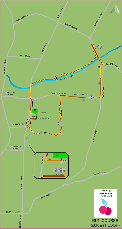 run course map